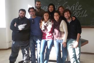 Davide, Andrea, Anna, Dariana, Lapo, Martina, Amanda e Mario