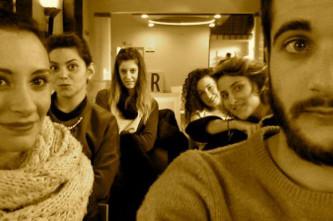 Giulia, Sara, Eleonora, Elena, Agnese, Alberto e Simone
