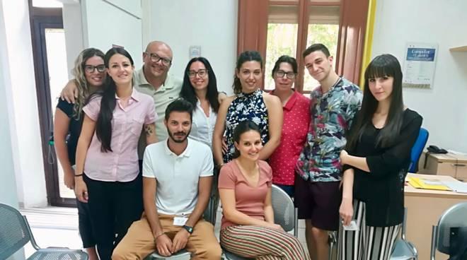Giovani volontari di servizio civile presso Coeso - Grosseto