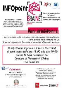 locandina brainet a3 Monteroni