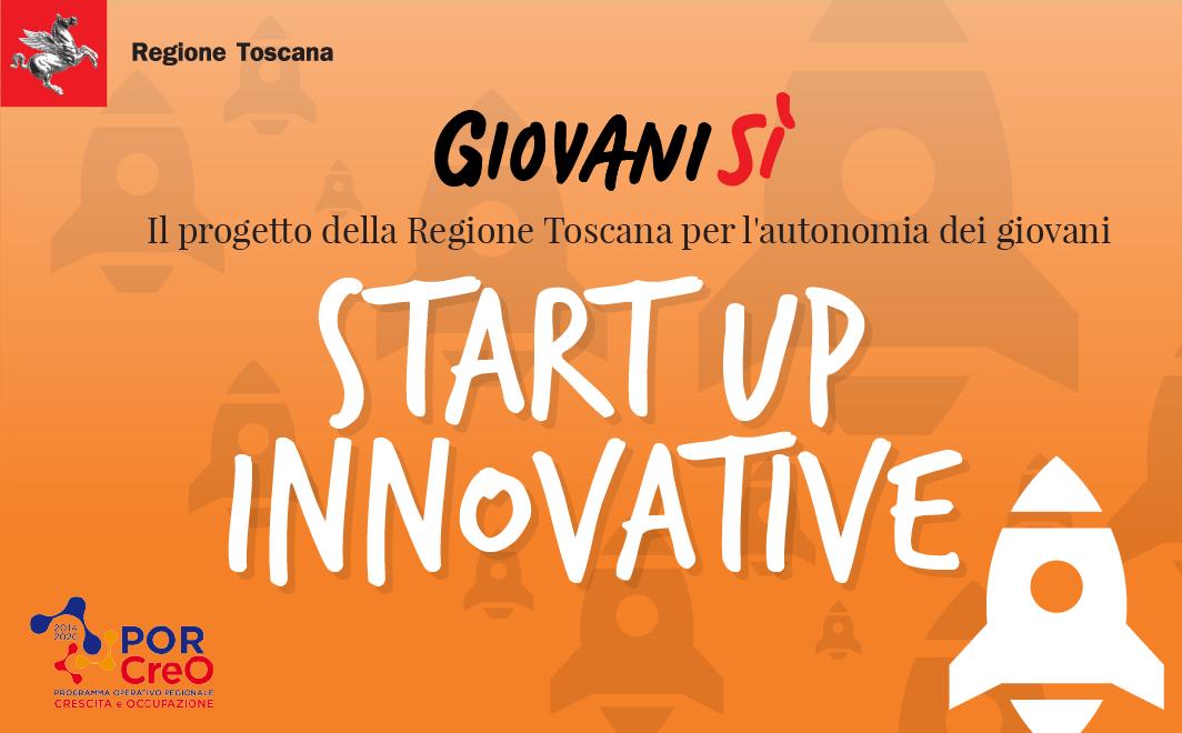 Start up innovative <div class='giovanisi-subtitle'>Finanziamento agevolato per la creazione di imprese innovative - Attivo fino ad esaurimento fondi</div>