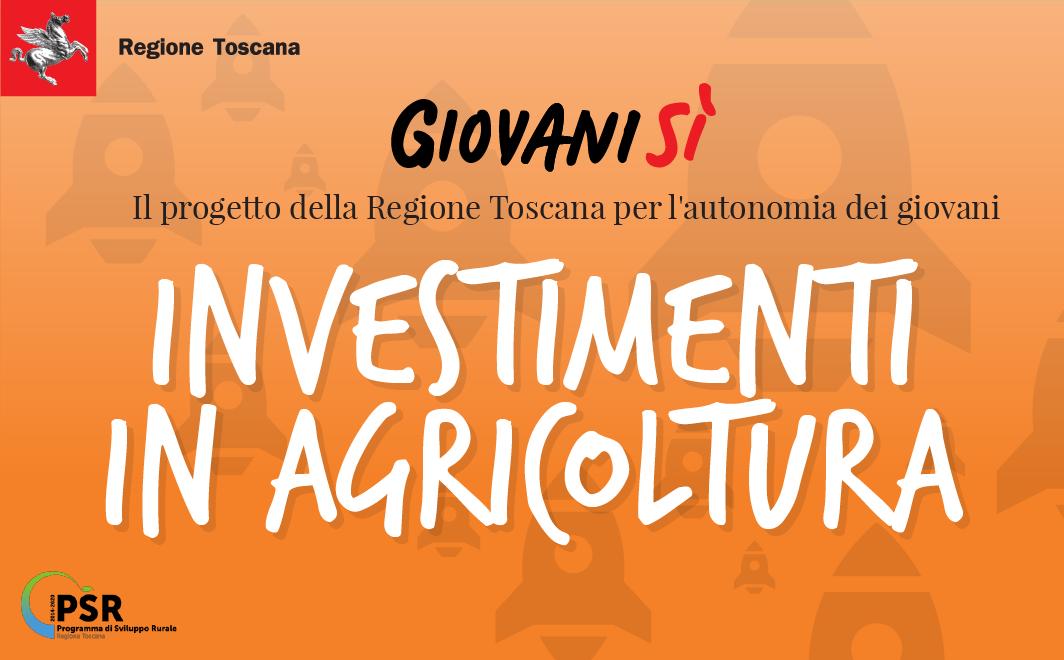 Investimenti in agricoltura per la gestione delle risorse idriche <div class='giovanisi-subtitle'>Contributi in conto capitale per le aziende agricole, maggiorati del 10%, in caso di under 40</div>