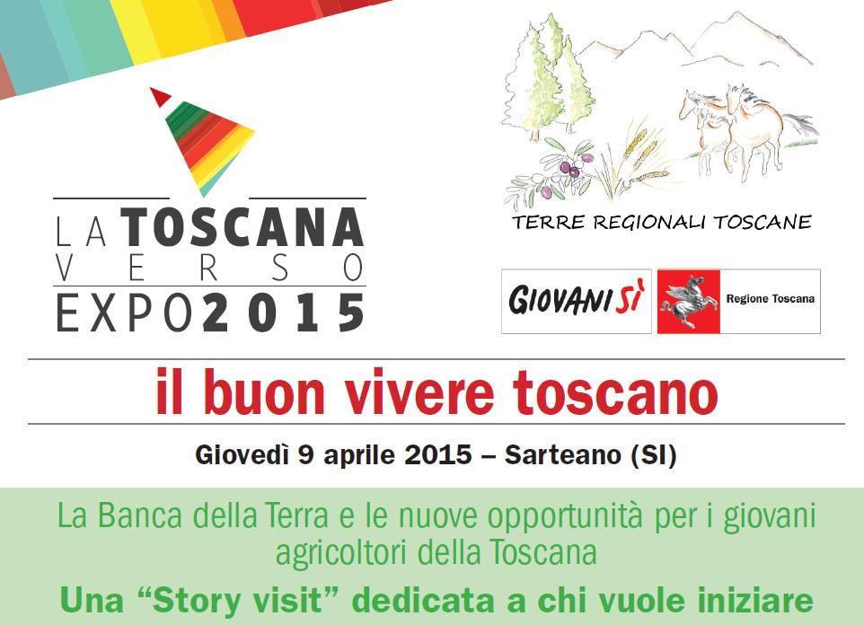 """""""La Banca della Terra e le nuove opportunità per i giovani agricoltori della Toscana"""" il 9/04 a Sarteano (SI)"""