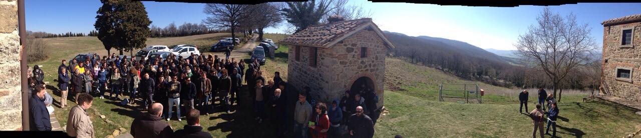 """""""La Banca della terra e le nuove opportunità per i giovani agricoltori"""": la story visit a Sarteano"""