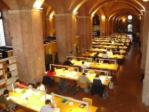 Biblioteca Università Siena