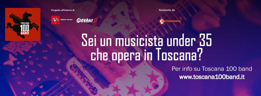 """""""Toscana 100 band"""": dall'8 al 17 gennaio dieci Infoday sul territorio toscano"""
