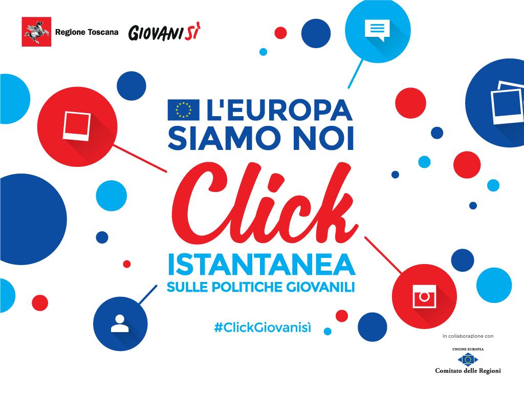 """""""L'Europa siamo noi. CLICK – istantanea sulle politiche giovanili"""": i contributi dell&#8217;evento <div class='giovanisi-subtitle'>Rivivi l&#039;iniziativa del 17/06 - promossa da Giovanisì -  attraverso video, foto e documentazione</div>"""