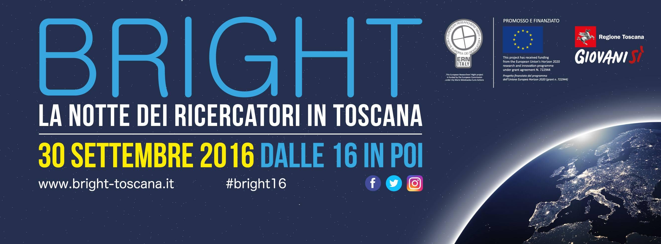 30/9: la Notte dei ricercatori si accende con Bright 2016, la festa dedicata alla conoscenza
