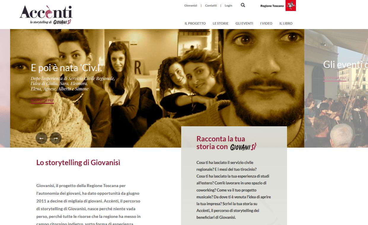 'Accènti': online il nuovo blog di storytelling di Giovanisì. Buona lettura!