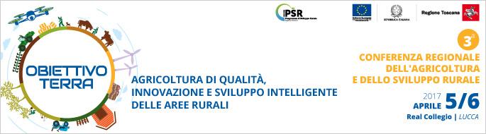 Obiettivo terra: 3° Conferenza regionale dell&#8217;agricoltura e dello sviluppo rurale <div class='giovanisi-subtitle'>5 e 6 aprile 2017, Real Collegio di Lucca </div>