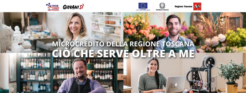 """""""Microcredito della Regione Toscana, ciò che serve oltre a me"""""""