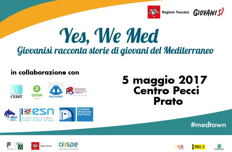 &#8216;Yes, We Med &#8211; Giovanisì racconta storie di giovani del Mediterraneo&#8217; il 5/05 a Prato <div class='giovanisi-subtitle'>Giovanisì alla I edizione di Mediterraneo Downtown </div>