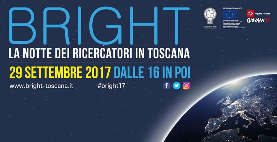 #Bright17: Il 29 settembre la scienza protagonista della Notte dei ricercatori