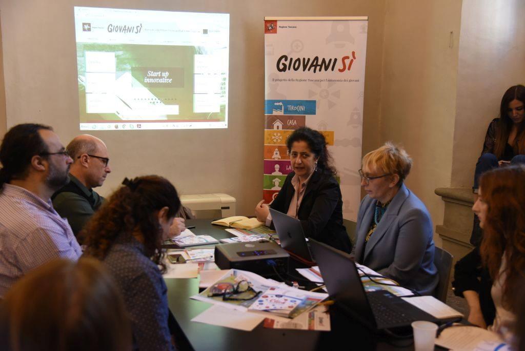 """Delegazione libanese in Toscana per """"studiare"""" Giovanisì"""
