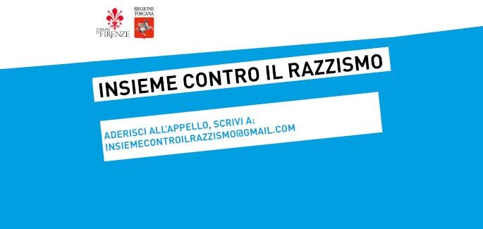 'Insieme contro il razzismo', continuano le adesioni all'appello di Rossi e Nardella