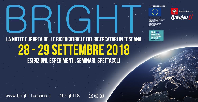 Bright2018, va in scena la Notte della ricerca e della scienza