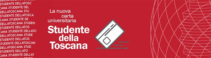 Studente della Toscana: la carta unica dello studente universitario