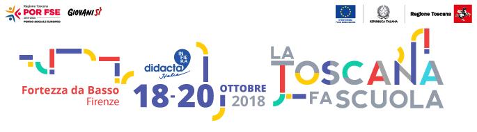18-20 ottobre: a Didacta 2018 la Regione Toscana protagonista con uno stand e tante proposte