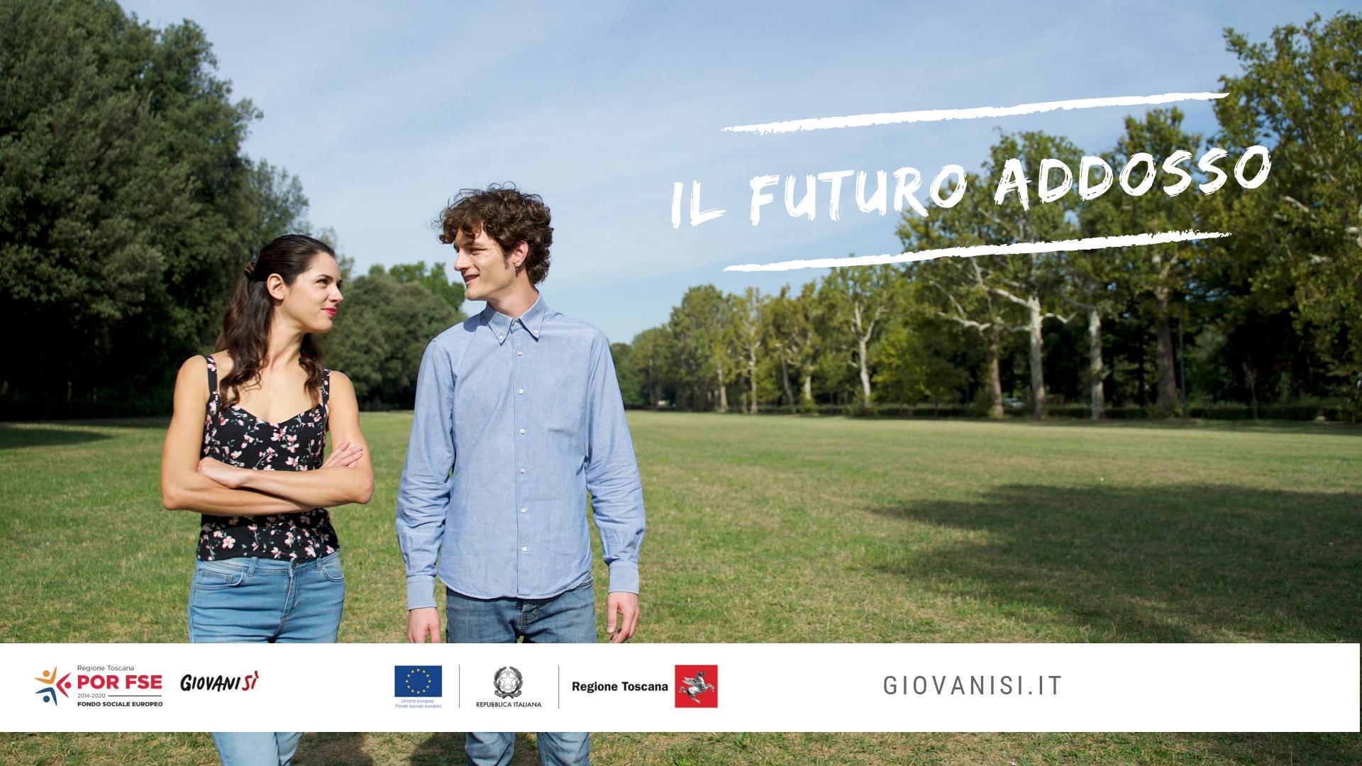 """""""Il futuro addosso"""": guarda i video seriali di Giovanisì e del Fondo Sociale Europeo"""