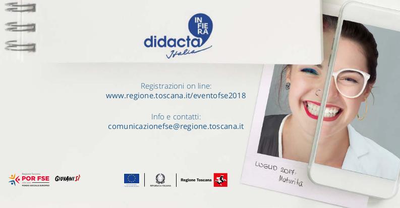 """""""Scuola e Lavoro: due facce della stessa storia"""": il 19/10 a Firenze l'evento annuale FSE"""