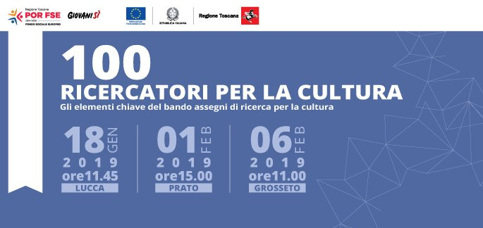 '100 Ricercatori per la Cultura', la vicepresidente Barni illustra il bando a Lucca, Prato e Grosseto