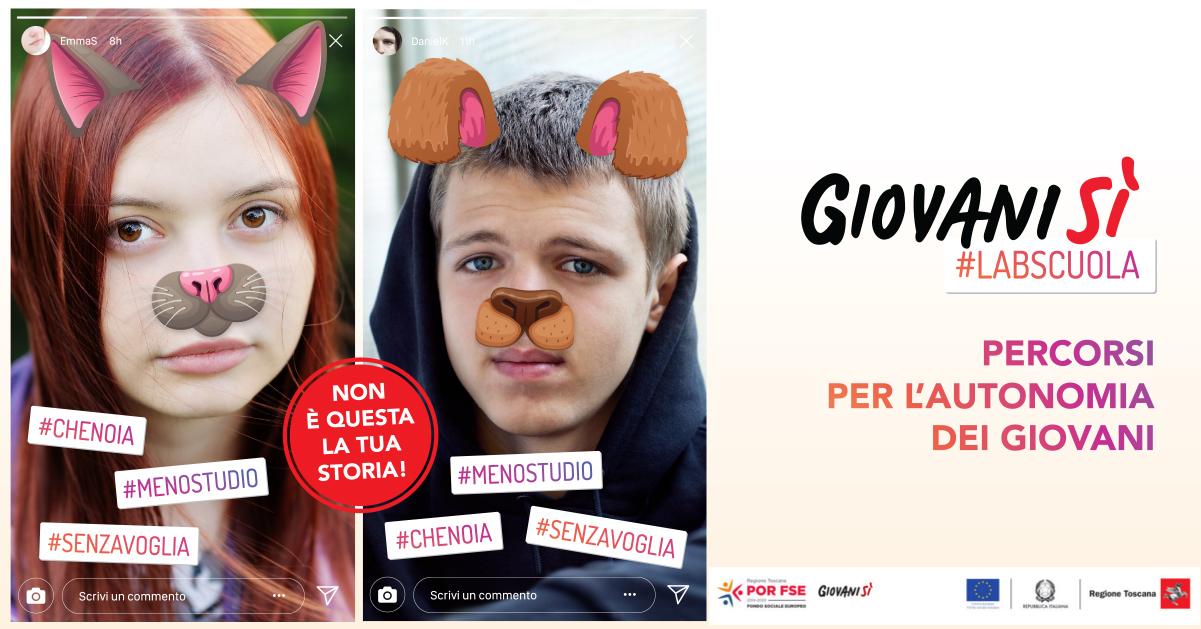 Giovanisì #LabScuola: a Firenze con Lorenzo Baglioni l'evento del percorso contro la dispersione scolastica